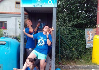 blue team phone booth