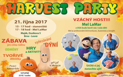 HARVEST PARTY 21. 10. 2017